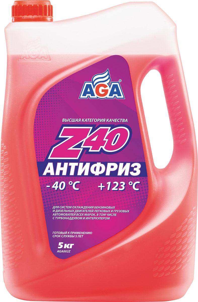 Антифриз AGA Z40, готовый, цвет: красный, 5 кгAGA 002 ZАнтифриз высшей категории качества AGA Z40 предназначен для систем охлаждения бензиновых и дизельных двигателей легковых и грузовых автомобилей всех марок. Идеален для высокофорсированных теплонапряженных двигателей, в том числе с турбонаддувом и интеркулером. Рабочий диапазон от -40°С до +123°С.Особенности:- обеспечивает определение мест утечки антифриза даже без ультрафиолетовой лампы (оставляет красный след); - защита от локальных зон перегрева в головке блока благодаря особой смачивающей способности антифриза;- отличается повышенной проникающей способностью в микрорельеф охлаждаемых поверхностей, что улучшает теплоотвод, особенно при высоких нагрузках.Разработан с учетом требований: ASTM D 4985/5345; BMW N600 69.0; DaimlerChrysler DBL 7700.20; Audi, Porsche, Seat, Skoda, VW TL 774-D; G-48; Ford WSS-M97 B44-D, TTM АвтоВАЗ.Товар сертифицирован.