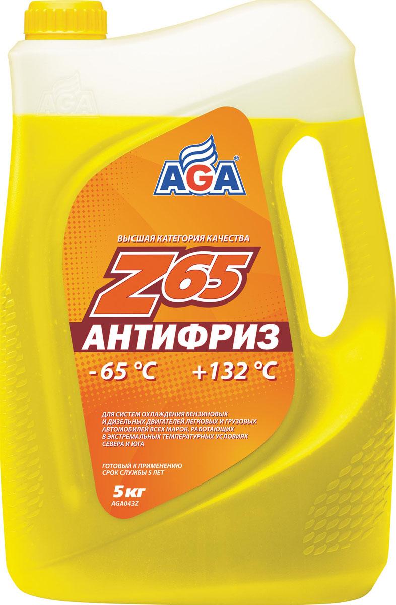 Антифриз AGA Z65, готовый, цвет: желтый, 5 кгAGA 043 ZГотовый антифризAGA Z65 применяется на легковых и грузовых автомобилях с любым типом двигателя от разных производителей. Рекомендуется для форсированных двигателей, с турбонаддувом, интеркулером, а также для автомобилей, которые эксплуатируются в зимних условиях и местах с недостаточным обдувом, например, в городе.Производителями дается гарантия, что охлаждающая жидкость будет эффективно работать без замены более 150000 километров или 5 лет эксплуатации. При этом допустимо смешивать антифриз Z65 с другими тосолами и антифризами высокого качества любого цвета, если в их основе лежит этиленгликоль.В составе антифриза находится присадки, которые обеспечивают:- высокую теплоемкость;- применение в диапазоне температур в пределах от -65°С до +132°С;- антикоррозионные, противопенные, антиокислительные и антифрикционные характеристики;- защиту от старения резиновых деталей.Разработан с учетом требований: ASTM D 4985/5345; BMWN600 69.0; DaimlerChrysler DBL 7700.20; Audi,Porsche, Seat, Skoda, VW TL 774?F, type G-12+; FordWSS-M97 B44–D, ТТМ АвтоВАЗ.Товар сертифицирован.