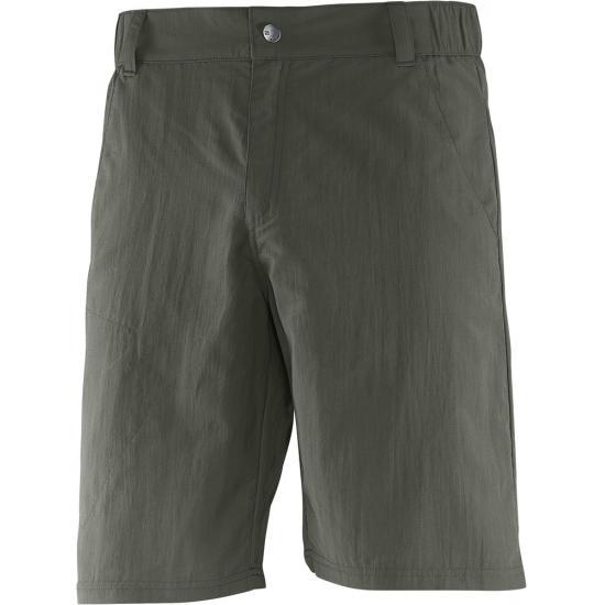 где купить Шорты мужские Salomon Elemental Short, цвет: хаки. L37992300. Размер 48 по лучшей цене