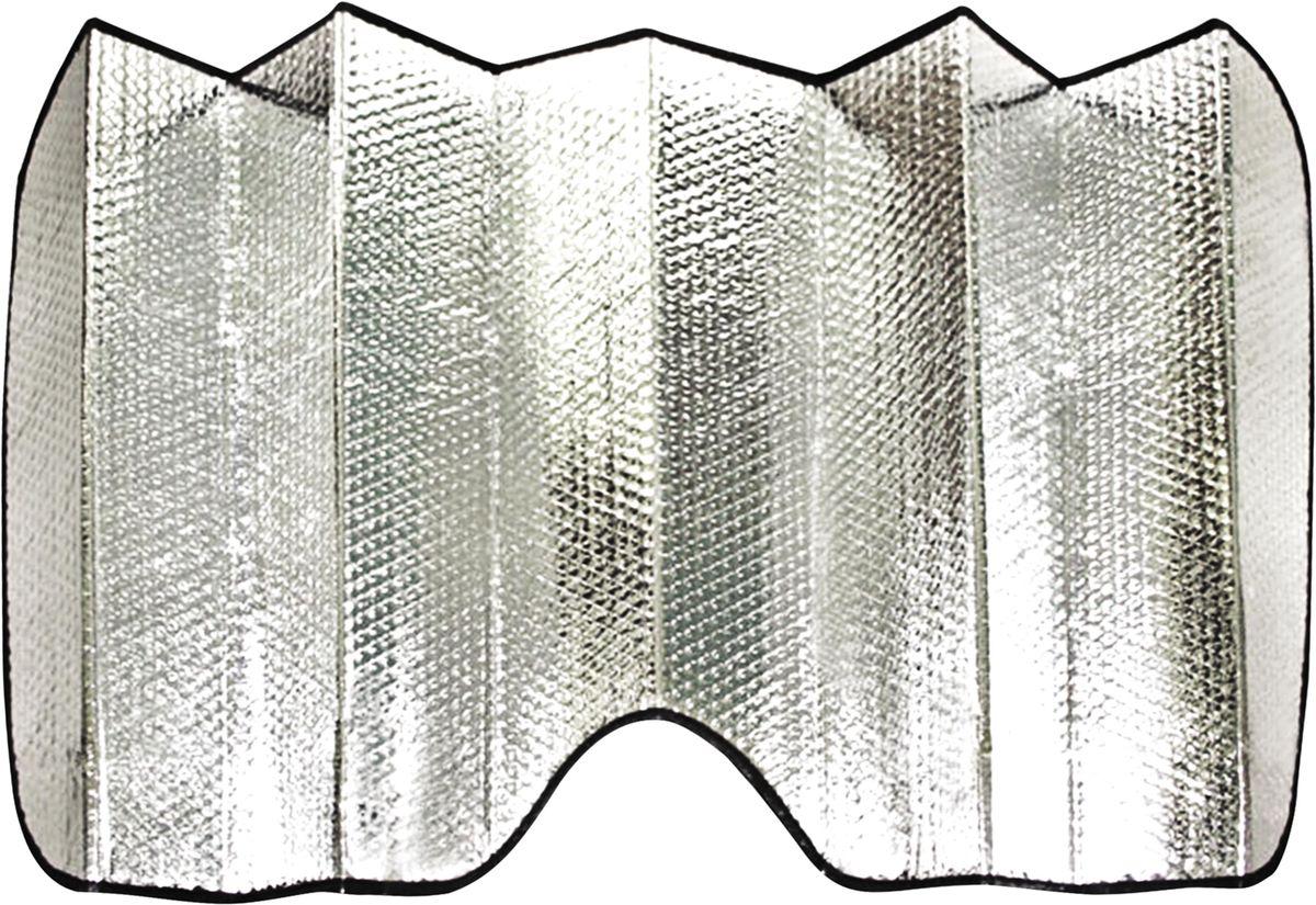 Шторка солнцезащитная Zipower, на лобовое стекло, 130 х 60 смPM 0715Автомобильная двухсторонняя солнцезащитная шторка Zipower предназначена для лобового стекла автомобиля. Имеет светоотражающий наружный и внутренний термоизоляционный слои которые препятствуют проникновению солнечных лучей в салон автомобиля, тем самым исключая его нагрев.Размер шторки: 130 x 60 см.Размер шторки в сложенном виде: 15 х 60 см.
