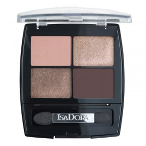 Isa Dora Тени для век Eye Shadow Quartet 06, 5гр isadora для век eye shadow quartet 44 5 г