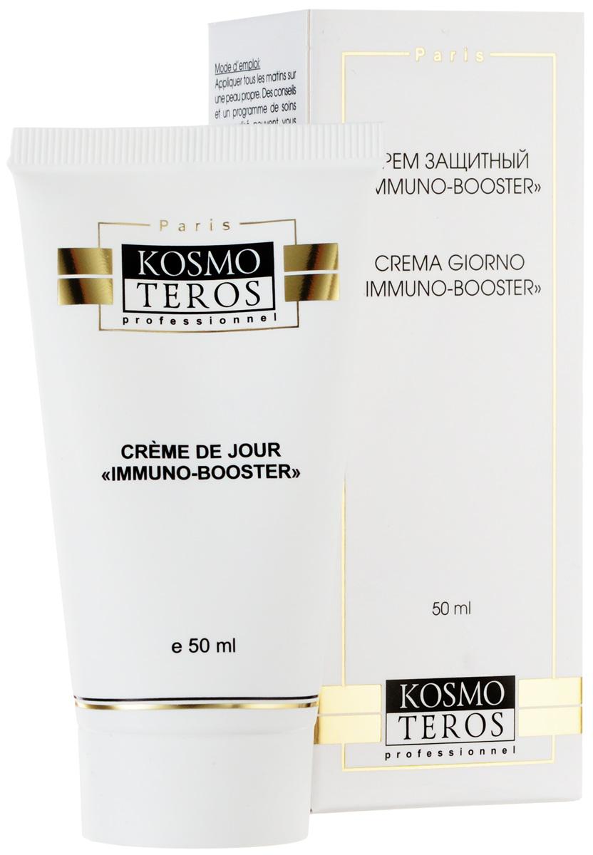 Kosmoteros Дневной крем для лица Creme de Jour Immunalon - 50 мл5065Обладает имунностимулирующей активностью, сильным противовоспалительным, ранозаживляющим, антиаллергическим, фотозащитным действием, укрепляет иммунную систему кожи, стимулирует обновление клеток, восстанавливает разрушенный коллаген, одновременно поддерживая необходимый уровень увлажнения кожи, восстанавливая гидратацию дермы и препятствуя трансэпидермальным потерям воды.Основные активные компоненты: Hyasealon 1, 2%, ?- глюкан 1, 0%эхинацея 4, 0%. Показания к применению: для любого типа кожи, нуждающейся в иммунокоррекции, в том числе для сухой и чувствительной.