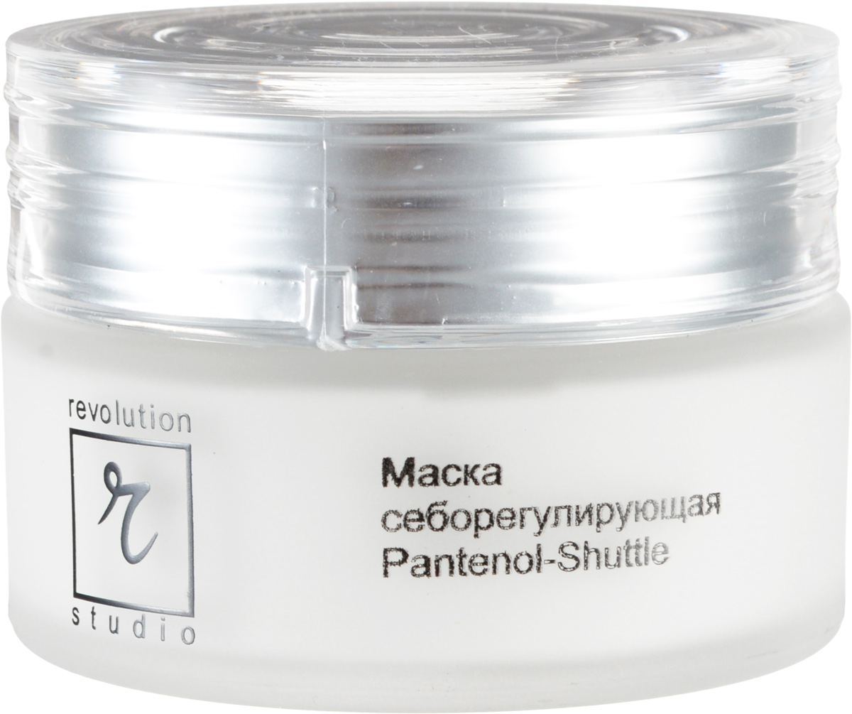R-Studio Pantenol-Shuttle - Маска себорегулирующая для лица 50 мл2693 sСодержащая пантенол в микрокапсулах маска превосходно регулирует секрецию сальных желез, устраняет жирный блеск, успокаивает кожу и сужает расширенные поры, стимулирует регенерацию клеток кожи, обладает противовоспалительным, антисептическим действием, придает коже бархатистый матовый тон.