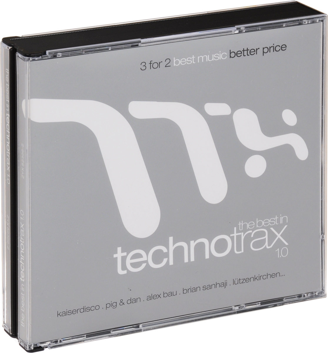 The Best In Technotrax 1.0 (3 CD)