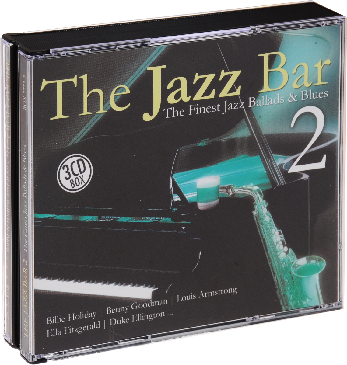 The Jazz Bar 2. The Finest Jazz Ballads & Blues (3 CD) the jazz cafe 3 cd