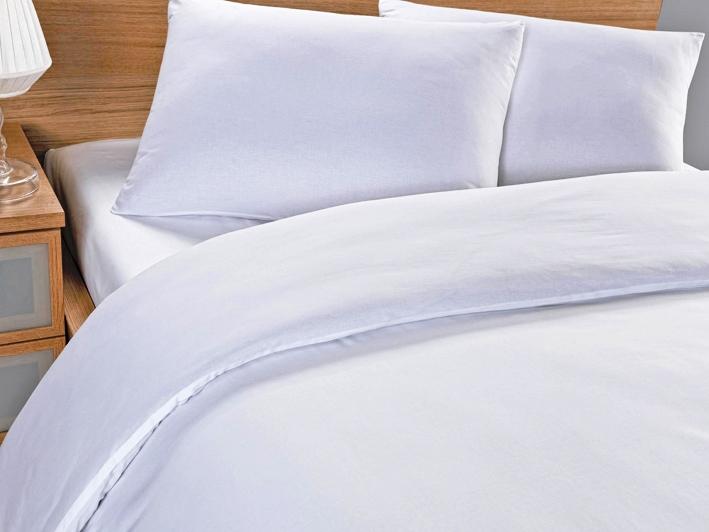 Комплект белья Arya Otel, 1,5-спальный, наволочка 50x70, цвет: белыйF0089087Роскошный комплект постельного белья Arya Otel состоит из пододеяльника, простыни и наволочки, выполненных из ранфорса (100% хлопка). Ранфорс - это ткань самого простого полотняного плетения из очень тонких хлопковых нитей. Благодаря этому он может впитывать влагу до 20% от своего веса, оставаясь сухим на ощупь. Окрашенные по самой современной технологии простыни из ранфорса не теряют свой цвет даже после множества стирок.Благодаря такому комплекту постельного белья вы создадите неповторимую атмосферу в вашей спальне.