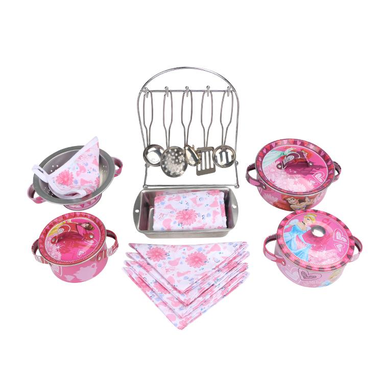 Disney Игрушечный набор посуды Королевское угощение disney набор детской посуды королевские питомцы 3 предмета