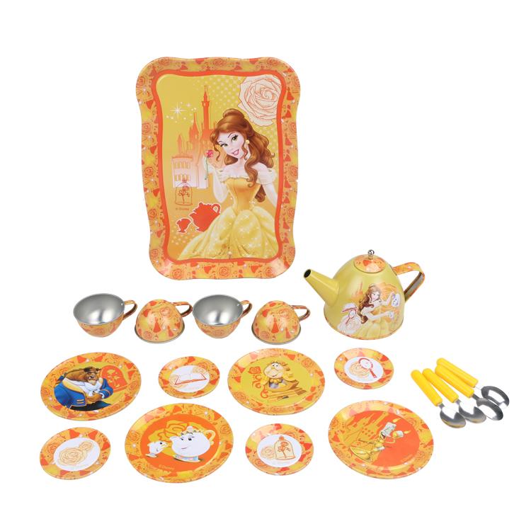 Disney Игрушечный набор посуды Принцесса Белль disney набор детской посуды королевские питомцы 3 предмета