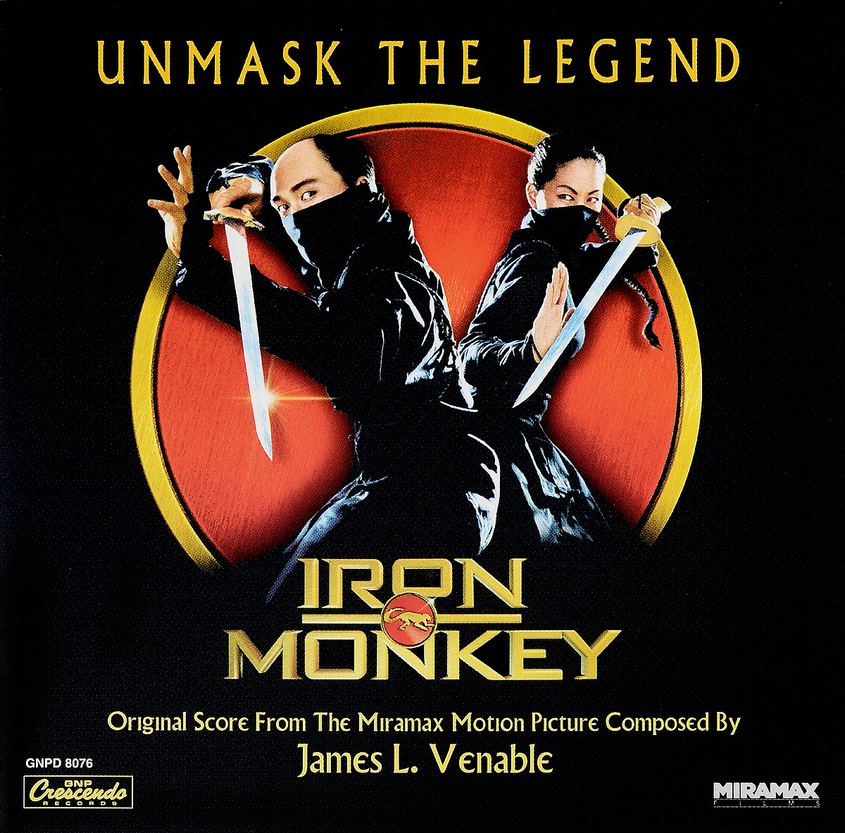 Original Soundtrack. Iron Monkey
