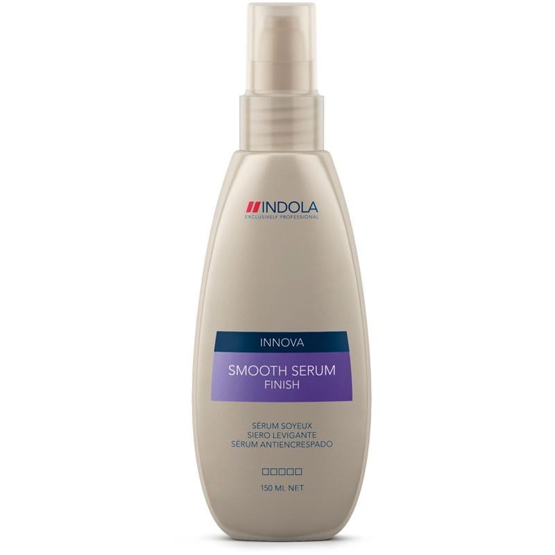 Indola Сыворотка для придания гладкости волосам Finish Smooth Serum 150 мл1849580Indola Сыворотка для придания гладкости волосам. Благодаря содержанию масла ореха макадамии, разглаживает и защищает волосы ,смягчает и выравнивает текстуру вьющихся волос, придает глянцевый блеск. Подходит для ежедневного применения.