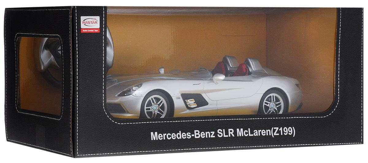 RastarРадиоуправляемая модель Mercedes-Benz SLR цвет серебристый Rastar