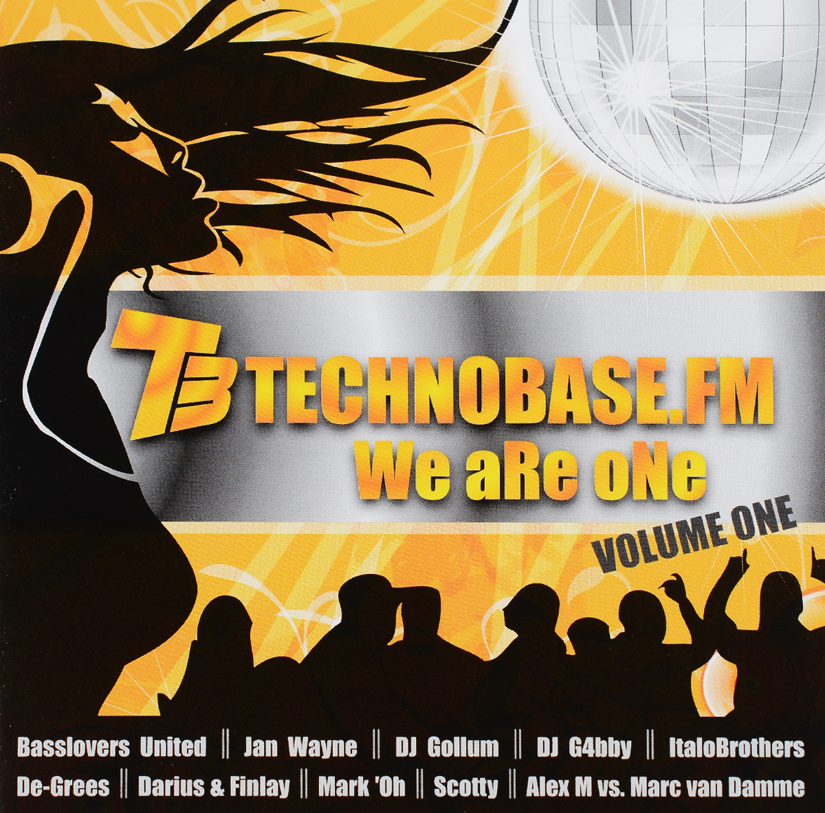 DJ G4bby,Ян Ване,De-Grees,Italobrothers,Dj Gollum,Dj Lanai,Ti-Mo,Dan Winter,Dj Somy,Lazy Monkeys Technobase.FM. We Are One. Volume 1 (2 CD) leather s dj amdition level 2 cd