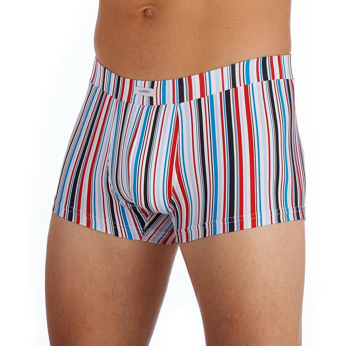 Трусы-хипсы мужские Lowry, цвет: белый, красный, черный, синий. MSHL-329. Размер XL (50)MSHL-329Мужские трусы-хипсы Lowry с широкой эластичной резинкой на поясе созданы специально для тех, кто предпочитает комфорт и классический дизайн. Мягкие, приятные на ощупь, эти трусы подходят к любой фигуре и будут незаметны под одеждой. Трусы выполнены из эластичного материала. Модель, выполненная из эластичного тактеля, создана для мужчин, ценящих практичность и удобство.