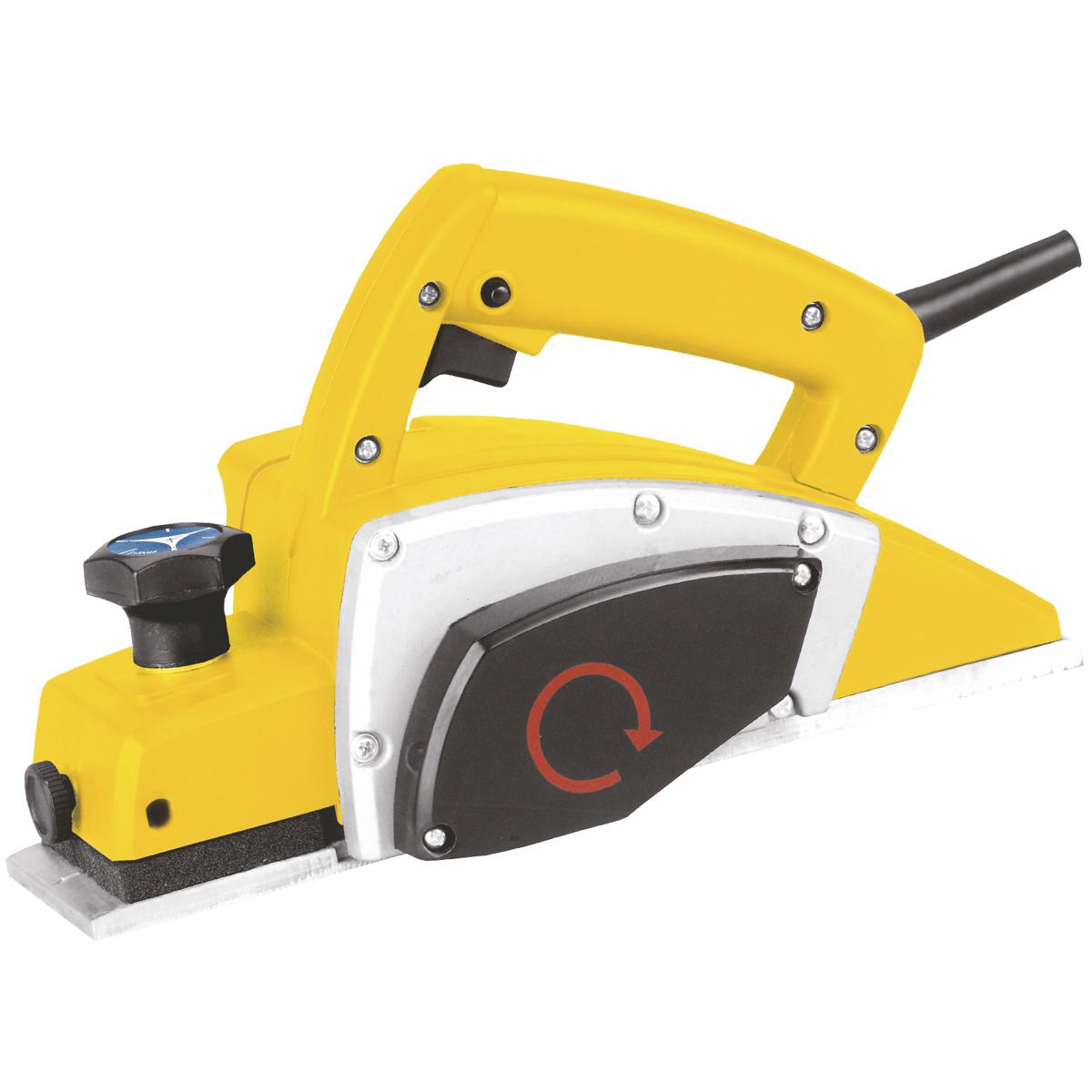 Рубанок Kolner KEP 600, электрическийкн600епЭлектрический рубанок Kolner KEP 600 предназначен для последовательного снятия слоев при строгании досок, обработки краев, фальцевания древесины и выборки четверти. Мощность двигателя и скорость вращения барабана обеспечивают высокую производительность.Блокировка кнопки запуска защищает инструмент от случайных включений. Рубанок поставляется с параллельным упором, регулирующим ширину обработки материала. Пылеотвод позволяет подключать пылесос или мешок для сбора пыли. V-образный паз, расположенный на подошве, позволяет легко снять фаску под углом 45 градусов. Комбинированная рукоятка одновременно выполняет функции дополнительной рукоятки и регулятора глубины строгания. Электрический рубанок Kolner KEP 600M - ваш лучший помощник!Частота: 50 Гц.Размеры лезвия: 82 х 5,8 х 1,3 мм.