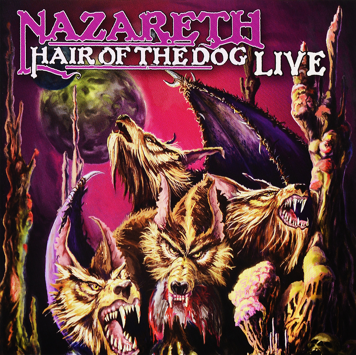 Nazareth Nazareth. Hair Of The Dog. Live nazareth nazareth 2xs 180 gr colour