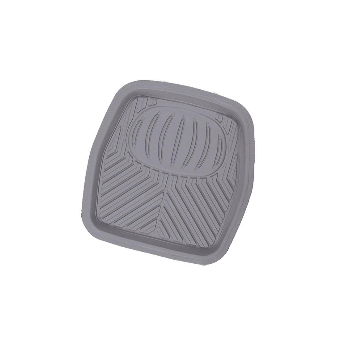 Коврик в салон автомобиля Autoprofi, для заднего ряда, универсальный, ванночка, цвет: серыйRUS-105r GYПрочный и долговечный коврик не имеет неприятного запаха и предназначен для заднего ряда.Выдерживает морозы до -20 С.