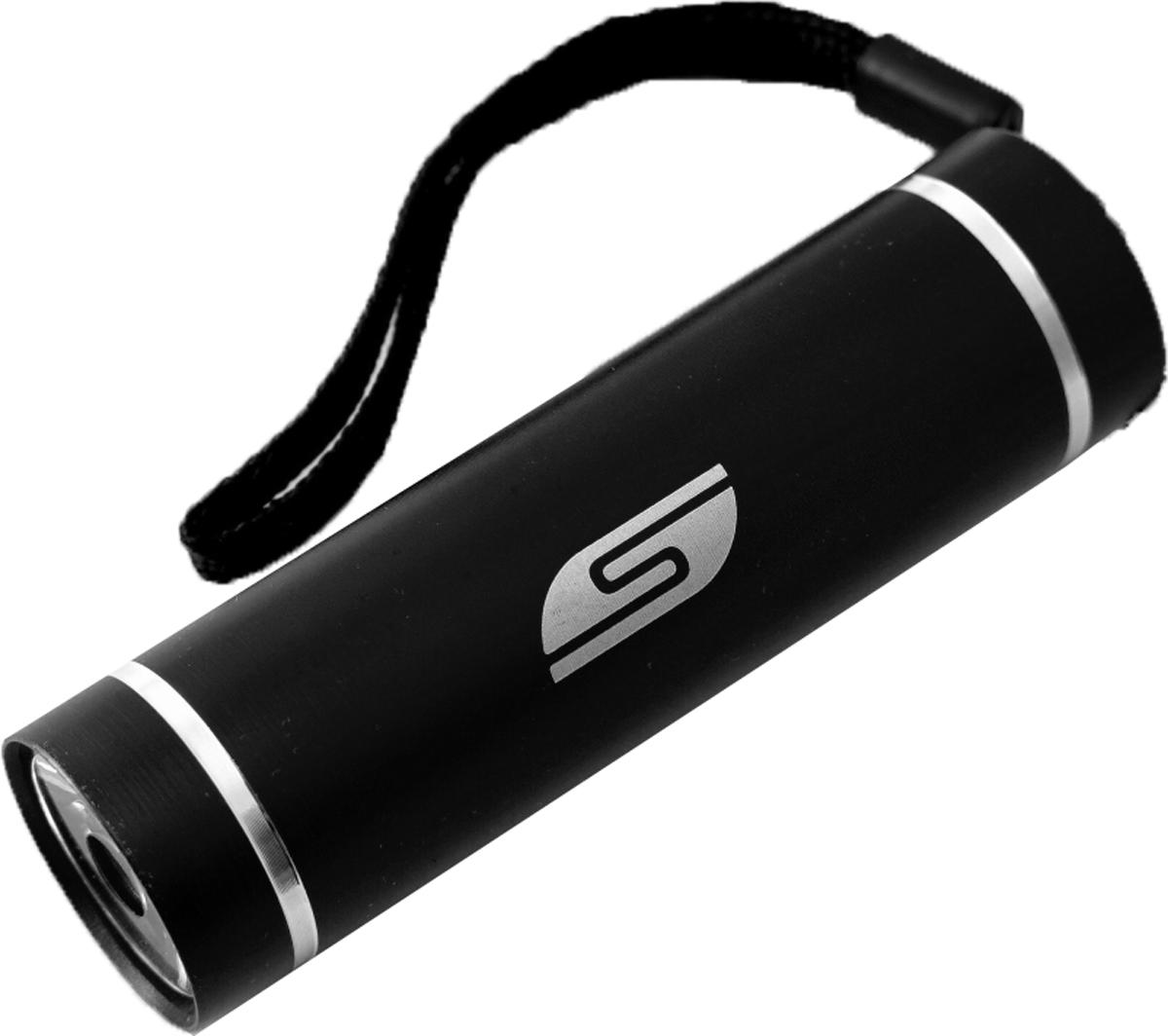 Фонарь SolarisT-5, ручной, цвет: черный3108blackКарманный фонарь, подходит для ежедневного ношения. Фонарь выполнен из качественного алюминия с защитным анодированием корпуса. Влагозащищённый - стандарт IPX6. Фонарь снабжен современным светодиодом мощностью 1 Ватт. Мощность светового потока 60 люмен, дальность эффективного излучения света 100 метров. Благодаря длине всего 9 сантиметров и малому весу фонарь идеально подходит для ежедневного ношения в качестве карманного. Кнопка включения в хвостовой части фонаря утоплена в корпус, что исключает случайное нажатие в кармане. Коллиматорная линза направленного действия и светодиод мощностью 1 Ватт обеспечивают фонарю очень приличную дальность освещения 100 метров. Фонарь может применяться в качестве запасного туристического фонаря и источника света для бытовых нужд. Особенности конструкции и эксплуатации фонаря SOLARIS T-5: - Один режим работы фонаря. - Кнопка включения расположена в хвостовой части фонаря. - Фонарь работает от 3-х батарей ААА (в комплект не входят). Кассета для батареек прилагается, находится внутри фонаря. - Время работы фонаря от 3-х батарей ААА: 5 часов. Размеры фонаря: 9 см х 2,6 см.