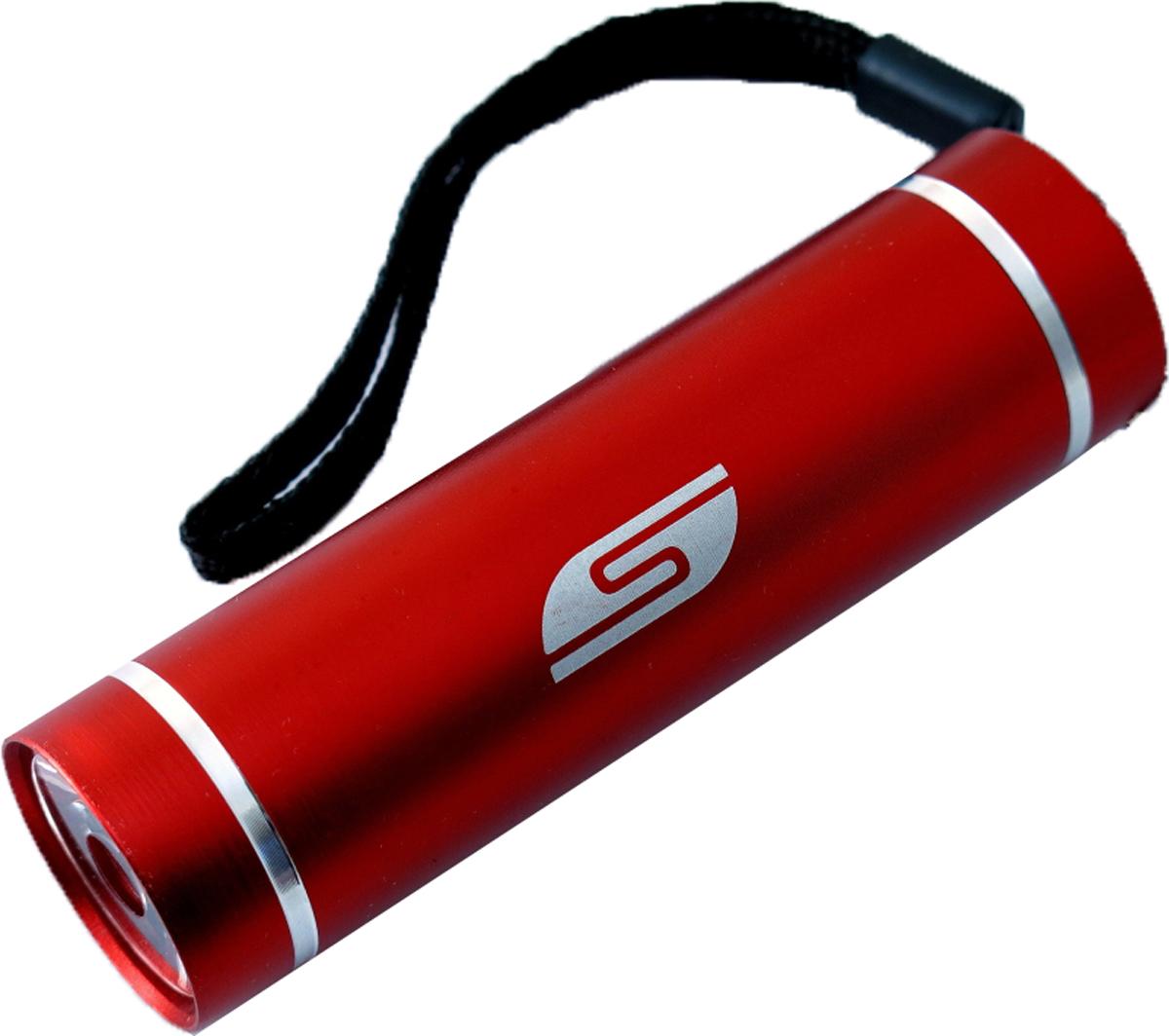 Фонарь SolarisT-5, ручной, цвет: красный3108redКарманный фонарь, подходит для ежедневного ношения. Фонарь выполнен из качественного алюминия с защитным анодированием корпуса. Влагозащищённый - стандарт IPX6. Фонарь снабжен современным светодиодом мощностью 1 Ватт. Мощность светового потока 60 люмен, дальность эффективного излучения света 100 метров. Благодаря длине всего 9 сантиметров и малому весу фонарь идеально подходит для ежедневного ношения в качестве карманного. Кнопка включения в хвостовой части фонаря утоплена в корпус, что исключает случайное нажатие в кармане. Коллиматорная линза направленного действия и светодиод мощностью 1 Ватт обеспечивают фонарю очень приличную дальность освещения 100 метров. Фонарь может применяться в качестве запасного туристического фонаря и источника света для бытовых нужд. Особенности конструкции и эксплуатации фонаря SOLARIS T-5: - Один режим работы фонаря. - Кнопка включения расположена в хвостовой части фонаря. - Фонарь работает от 3-х батарей ААА (в комплект не входят). Кассета для батареек прилагается, находится внутри фонаря. - Время работы фонаря от 3-х батарей ААА: 5 часов. Размеры фонаря: 9 см х 2,6 см.