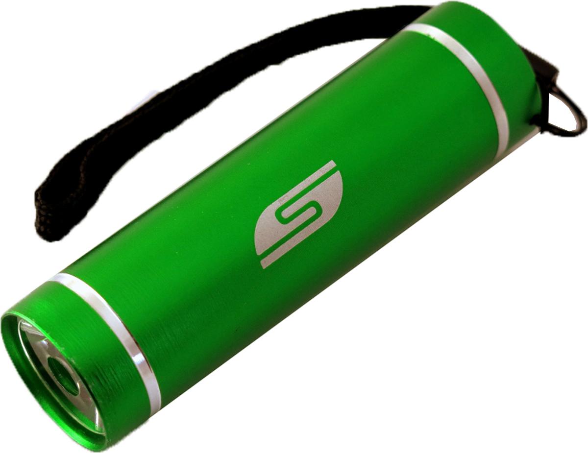Фонарь SolarisT-5, ручной, цвет: зеленый3108greenКарманный фонарь, подходит для ежедневного ношения. Фонарь выполнен из качественного алюминия с защитным анодированием корпуса. Влагозащищённый - стандарт IPX6. Фонарь снабжен современным светодиодом мощностью 1 Ватт. Мощность светового потока 60 люмен, дальность эффективного излучения света 100 метров. Благодаря длине всего 9 сантиметров и малому весу фонарь идеально подходит для ежедневного ношения в качестве карманного. Кнопка включения в хвостовой части фонаря утоплена в корпус, что исключает случайное нажатие в кармане. Коллиматорная линза направленного действия и светодиод мощностью 1 Ватт обеспечивают фонарю очень приличную дальность освещения 100 метров. Фонарь может применяться в качестве запасного туристического фонаря и источника света для бытовых нужд. Особенности конструкции и эксплуатации фонаря SOLARIS T-5: - Один режим работы фонаря. - Кнопка включения расположена в хвостовой части фонаря. - Фонарь работает от 3-х батарей ААА (в комплект не входят). Кассета для батареек прилагается, находится внутри фонаря. - Время работы фонаря от 3-х батарей ААА: 5 часов. Размеры фонаря: 9 см х 2,6 см.
