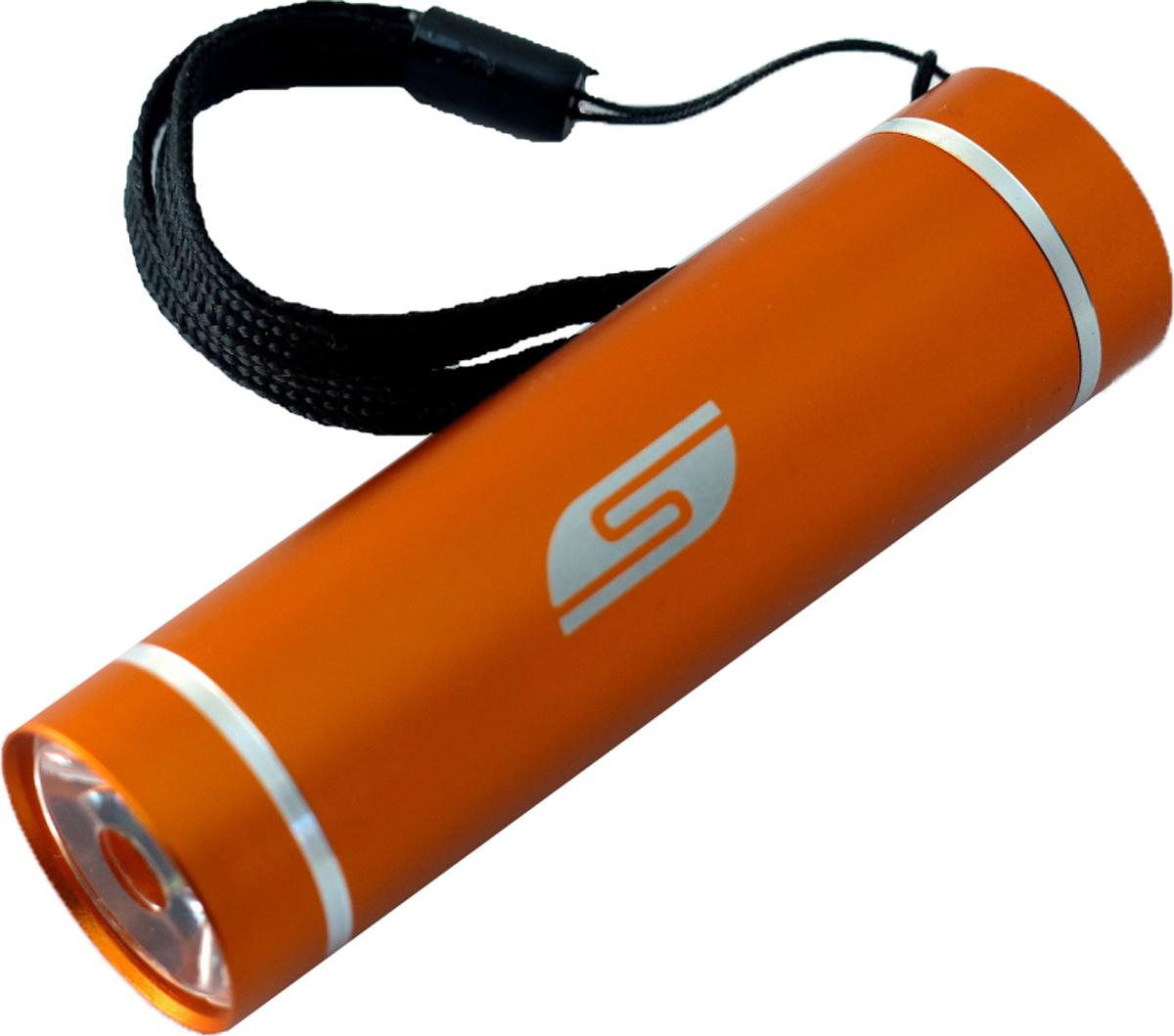Фонарь SolarisT-5, ручной, цвет: оранжевый3108orangeКарманный фонарь, подходит для ежедневного ношения. Фонарь выполнен из качественного алюминия с защитным анодированием корпуса. Влагозащищённый - стандарт IPX6. Фонарь снабжен современным светодиодом мощностью 1 Ватт. Мощность светового потока 60 люмен, дальность эффективного излучения света 100 метров. Благодаря длине всего 9 сантиметров и малому весу фонарь идеально подходит для ежедневного ношения в качестве карманного. Кнопка включения в хвостовой части фонаря утоплена в корпус, что исключает случайное нажатие в кармане. Коллиматорная линза направленного действия и светодиод мощностью 1 Ватт обеспечивают фонарю очень приличную дальность освещения 100 метров. Фонарь может применяться в качестве запасного туристического фонаря и источника света для бытовых нужд. Особенности конструкции и эксплуатации фонаря SOLARIS T-5: - Один режим работы фонаря. - Кнопка включения расположена в хвостовой части фонаря. - Фонарь работает от 3-х батарей ААА (в комплект не входят). Кассета для батареек прилагается, находится внутри фонаря. - Время работы фонаря от 3-х батарей ААА: 5 часов. Размеры фонаря: 9 см х 2,6 см.