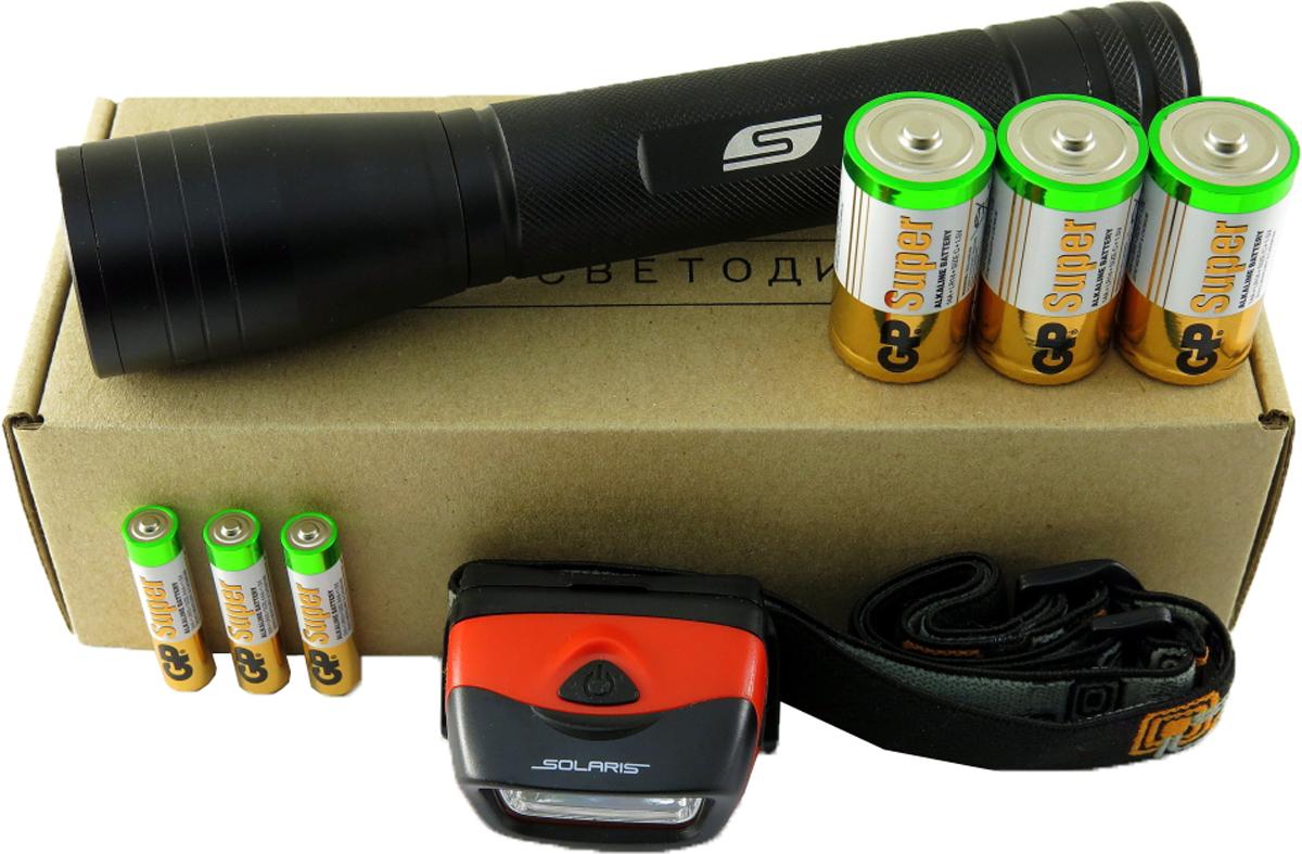 Набор фонарей Solaris  Kit FZ-65/L20 , с комплектацией - Фонари и лампы
