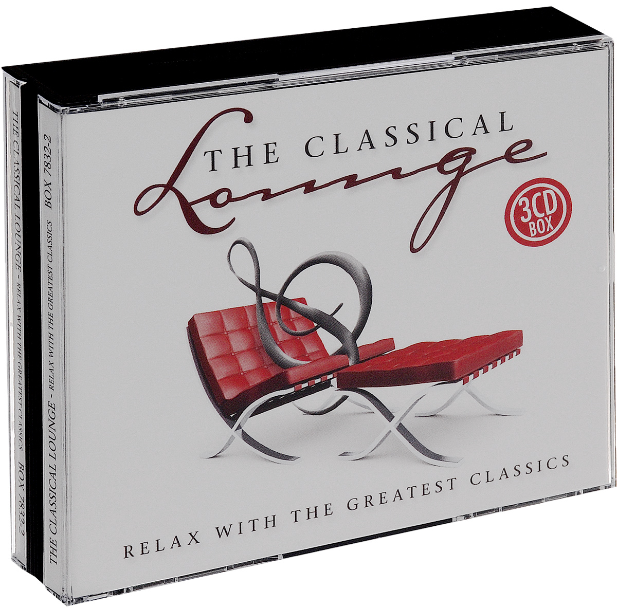 The Classical Lounge. Relax With Greatest Classics (3 CD) free shipping 10pcs 100% new ta31137fn