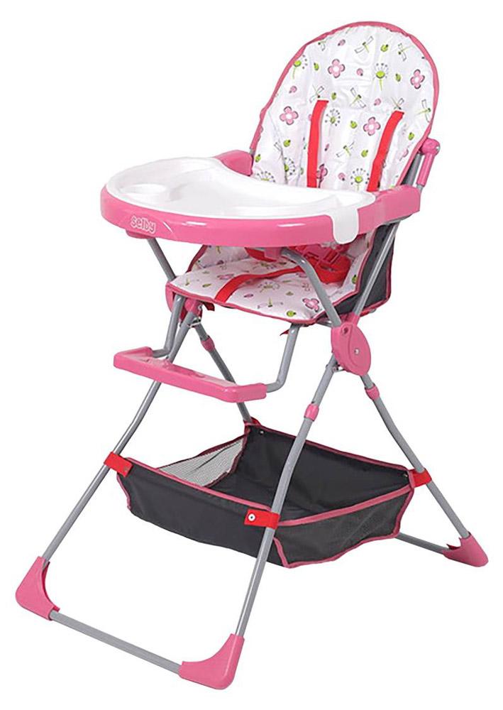 Selby Стульчик для кормления Стрекозы цвет розовый -  Все для детского кормления