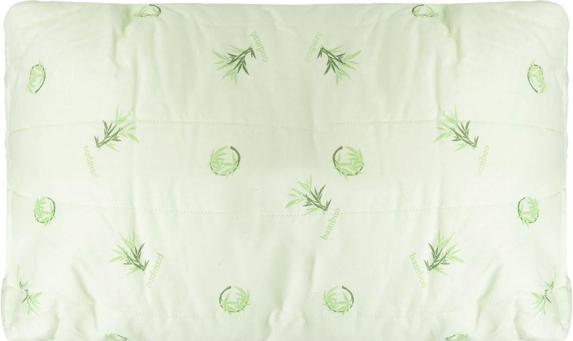 Подушка Легкие сны Бамбук, наполнитель: бамбуковое волокно, 38 х 60 см46(40)04-БВПодушка Легкие сны Бамбук подарит комфорт и уют во время сна. Стеганый чехол на молнии, выполненный из поплина (100% хлопка), позволяет регулировать высоту и мягкость подушки.Волокно бамбука - это натуральный материал, добываемый из стеблей растения. Он обладает способностью быстро впитывать и испарять влагу, а также антибактериальными свойствами, что препятствует появлению пылевых клещей и болезнетворных бактерий. Изделия с наполнителем из бамбука легко пропускают воздух, создавая охлаждающий эффект, поэтому им нет равных в жару. Они отличаются превосходными дезодорирующими свойствами, мягкие, легкие, нетребовательны в уходе, гипоаллергенные и подходят абсолютно всем. Основные свойства волокна: - дезодорирующий эффект;- антибактериальные свойства; - гипоаллергенные свойства. Подушку можно стирать в стиральной машине. Степень поддержки: средняя.Размер изделия: 38 х 60 см.