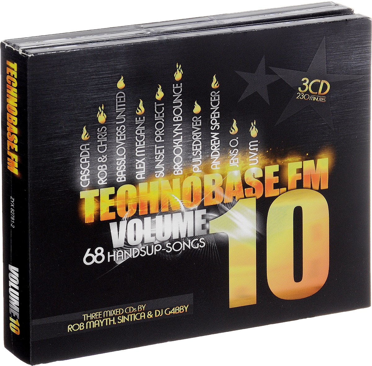 Technobase.Fm. Volume 10 (3 CD)