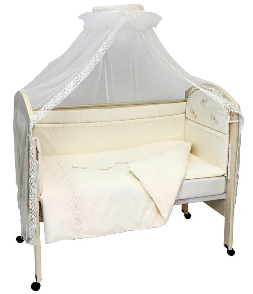 Топотушки Комплект детского постельного белья Стрекоза цвет бежевый 7 предметов наволочка 60 см х 40 см