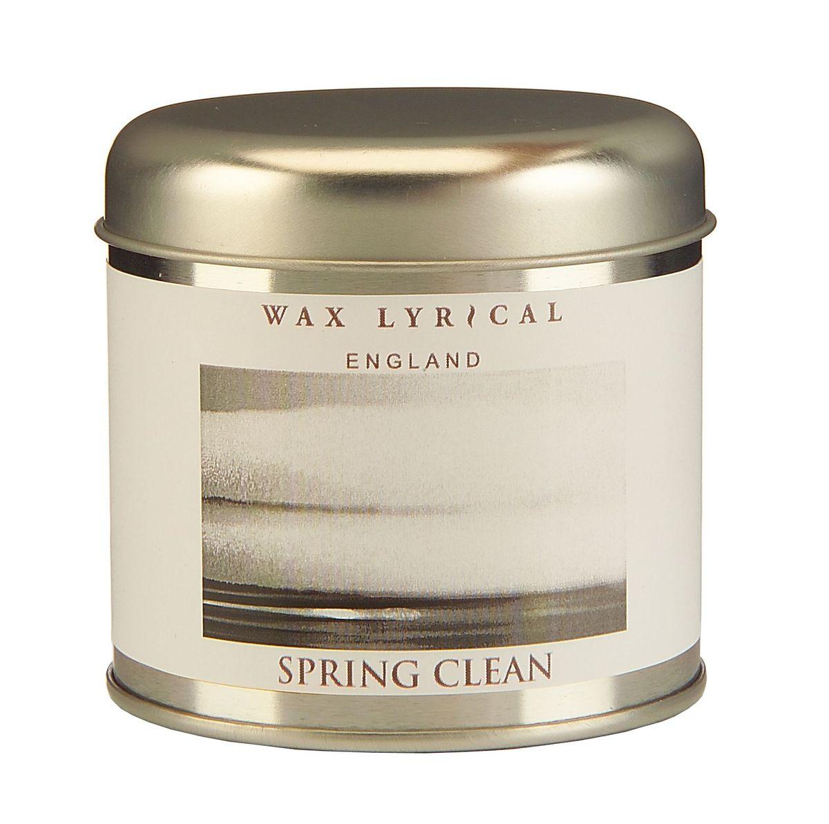 Свеча ароматизированная Wax Lyrical Впечатления, весенняя свежесть, 230 гWLT8712Свеча ароматизированная Wax Lyrical Впечатления имеет аромат свежего ветра в чистом доме.Время горения: 35 часов.