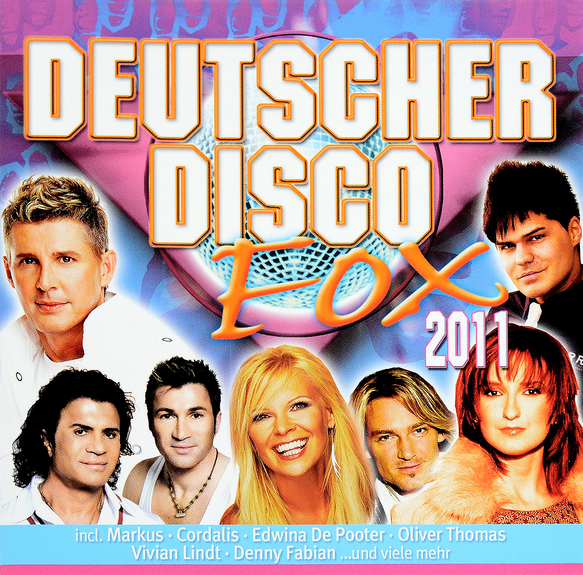 Zakazat.ru Deutscher Disco Fox 2011 (2 CD)