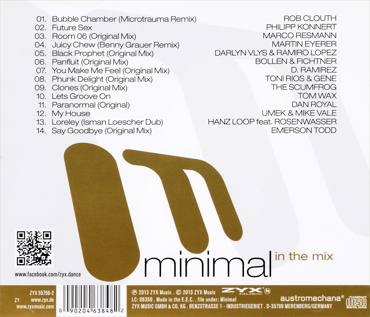 Minimal In The Mix ZYX Music