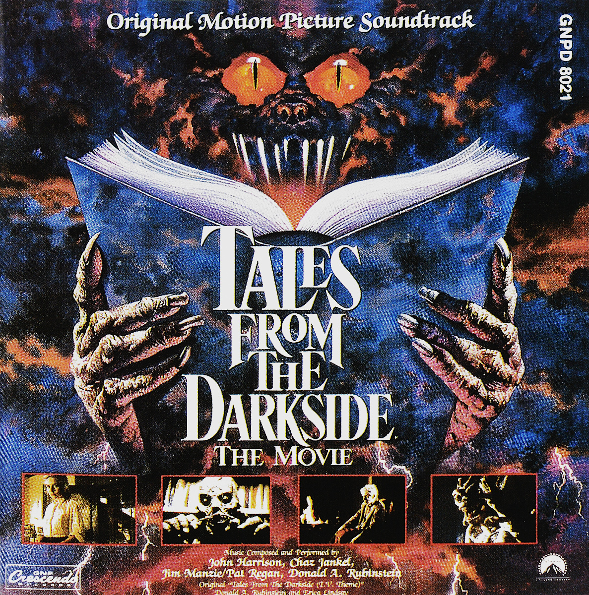 Original Soundtrack. Tales From The Dark Side