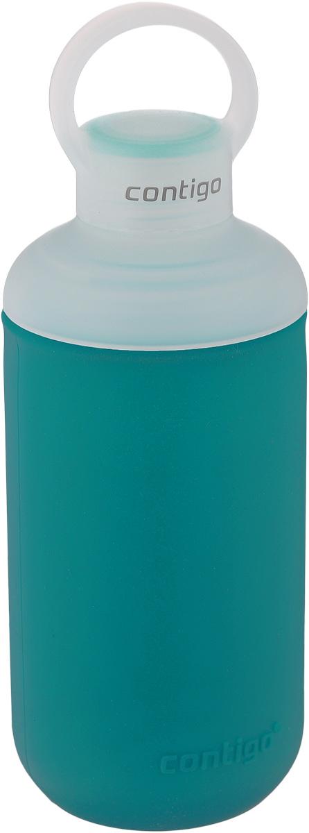 Бутылка для воды Contigo Tranquil, цвет: голубой, белый, 590 млcontigo0334Бутылка для воды Contigo Tranquil изготовлена из высококачественного пластика, безопасного для здоровья. Закручивающаяся крышка обеспечивает защиту от проливания. Оптимальный объем бутылки позволяет взять небольшую порцию напитка. Она легко помещается в сумке или рюкзаке и всегда будет под рукой. Резиновый ободок на корпусе обеспечивает надежный хват и комфорт во время использования. Такая идеальная бутылка небольшого размера, но отличной вместимости наполняет оптимизмом, даря заряд позитива и хорошего настроения. Бутылка для водыContigo Tranquil - отличное решение для прогулки, пикника, автомобильной поездки, занятий спортом и фитнесом. Высота бутылки (с учетом крышки): 22 см.Диаметр дна: 6,3 см.