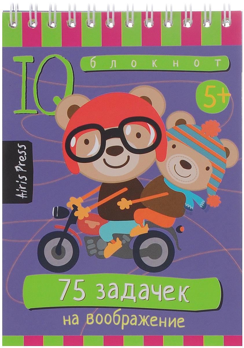 Айрис-пресс Обучающая игра Умный блокнот 75 задачек на воображение раннее развитие айрис пресс умный блокнот 75 раскрасок