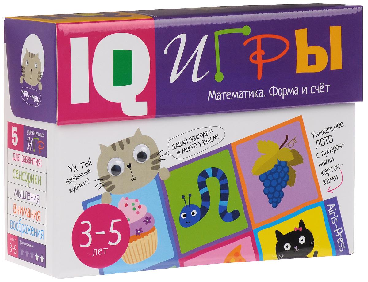 Айрис-пресс Обучающая игра Математика Форма и счет раннее развитие айрис пресс игры с прищепками буквы и звуки