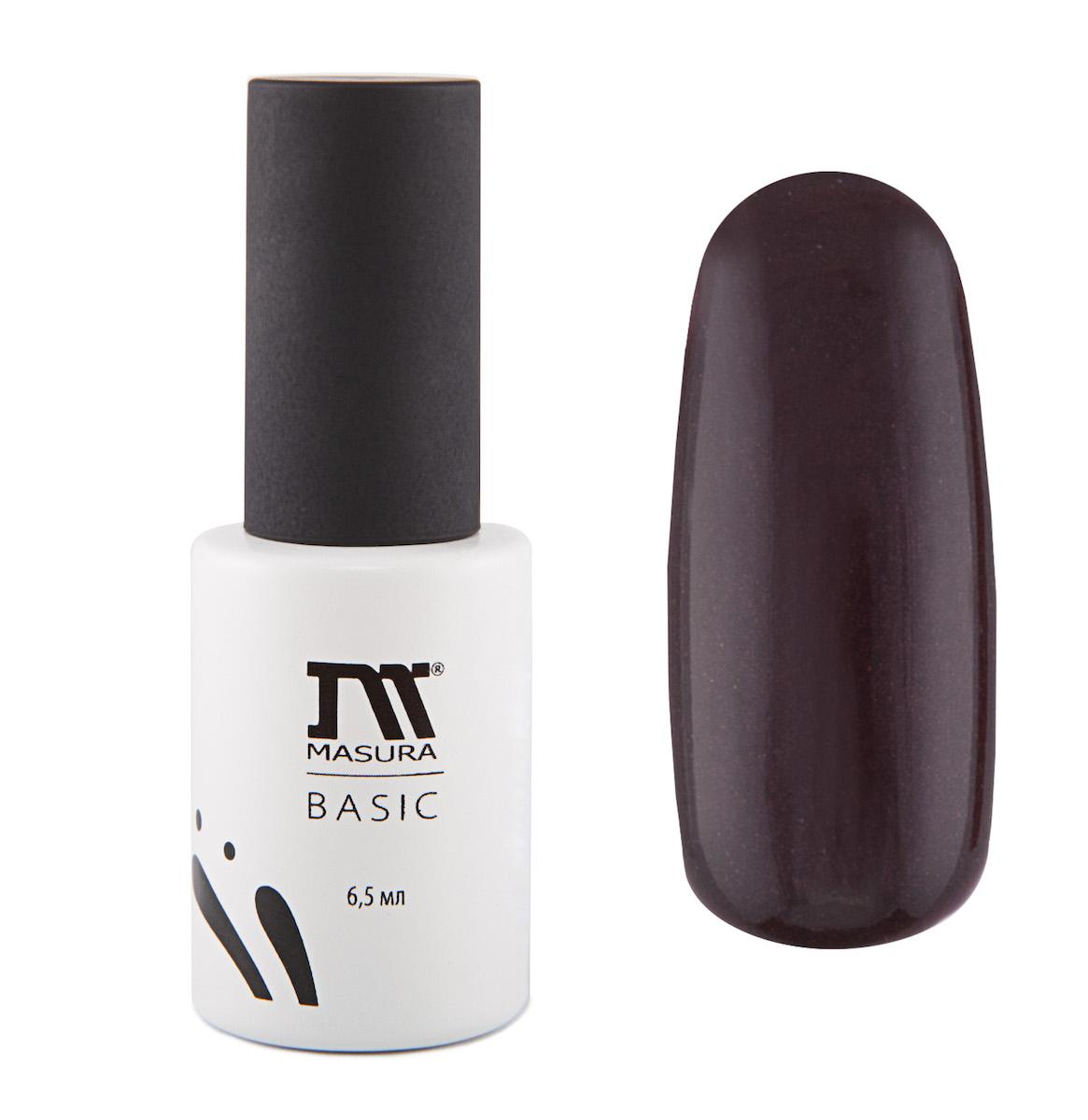 Masura Гель-лак BASIC Кленовый Сироп 6,5 мл294-69Бордово-коричневый, с микроблестками, плотныйКак ухаживать за ногтями: советы эксперта. Статья OZON Гид