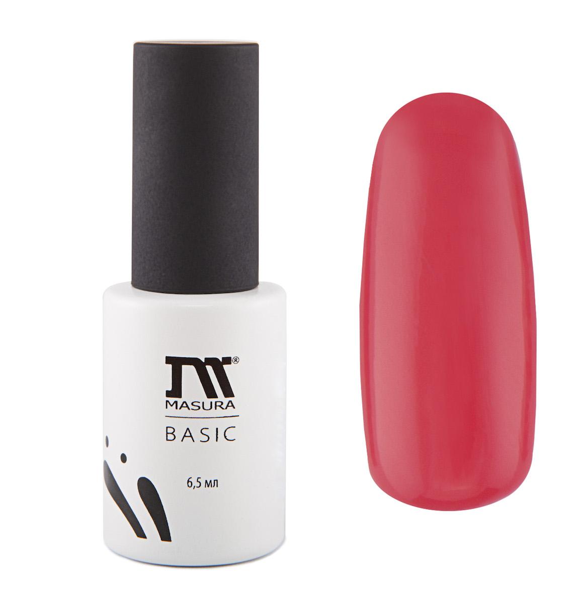 Masura Гель-лак BASIC Второе Свидание 6,5 мл294-75Коралловый с розовым подтоном, без блесток и перламутра, плотныйКак ухаживать за ногтями: советы эксперта. Статья OZON Гид