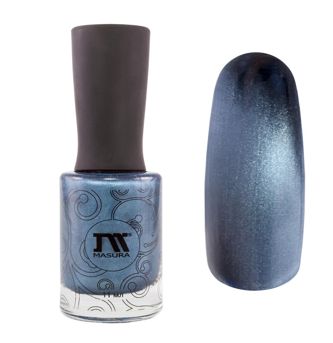 Masura Лак для ногтей Лазурит счастья, 11 мл904-114насыщенный синий