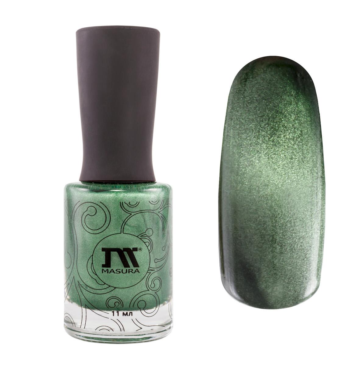 Masura Лак для ногтей Совершенный Изумруд, 11 мл904-118изумрудный