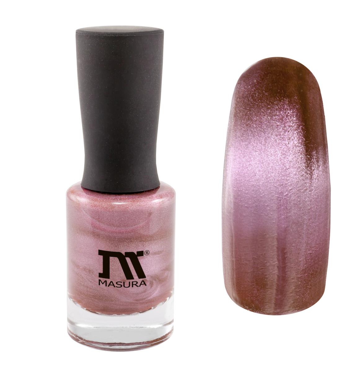 Masura Лак для ногтей Турмалин Страсти, 11 мл904-172нежно-розовый, с бежевым подтоном, плотный