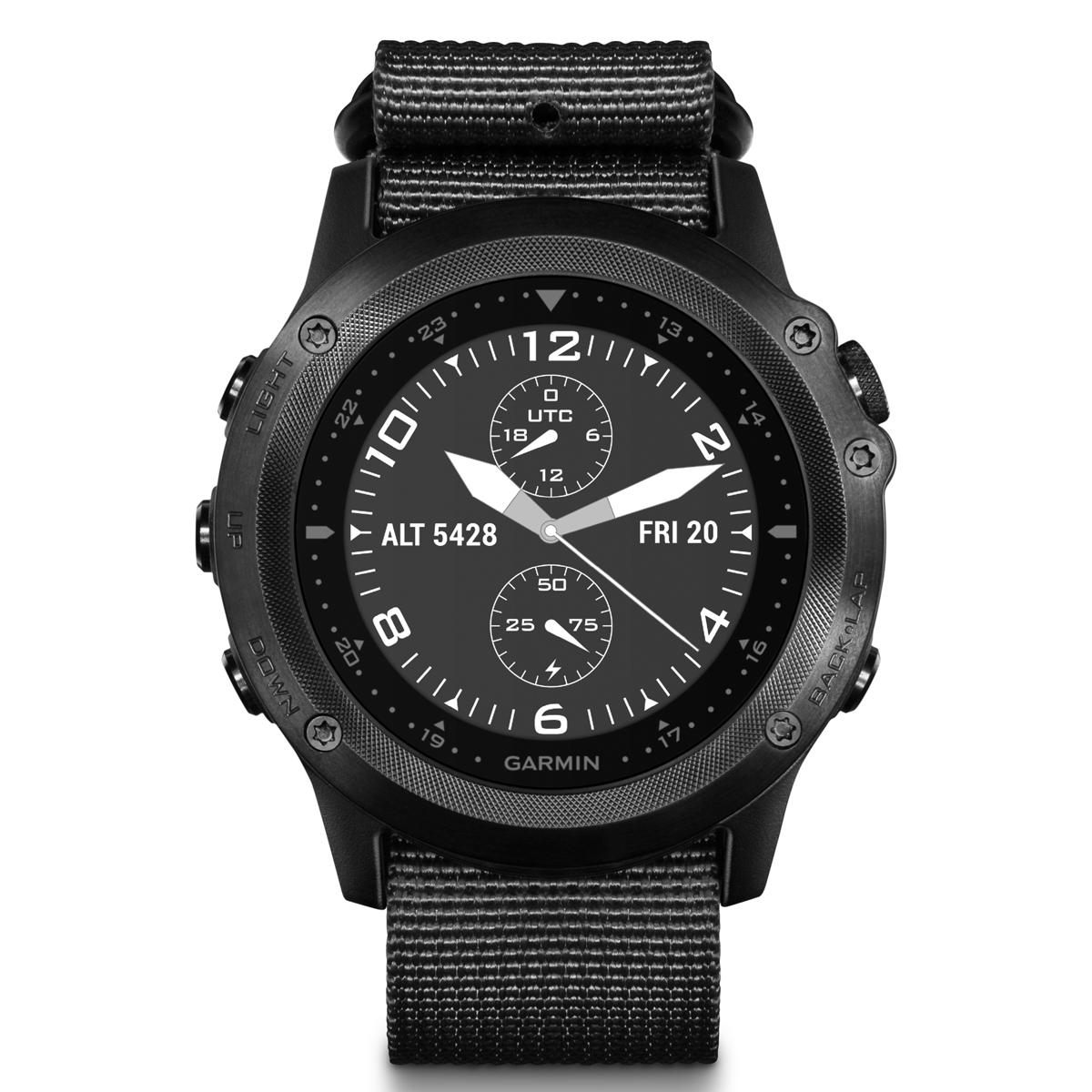 Спортивные часы Garmin Tactix Bravo , цвет: черный. 010-01338-0B010-01338-0BОтдельный профиль для боевых действий с настраиваемым полем данных с двойной координатной сеткой и предзагруженными приложениями, например, Jumpmaster и проекцией маршрутных точек. Два режима подсветки: для обычного использования и работы с прибором ночного видения, сапфировое стекло, ремешок сделан из баллистического нейлонаМониторинг: Физической активностиДатчики: GPS- трекер;Барометр;Гироскоп;Компас;Альтиметр (высотомер);Датчик освещенности;GPS- трекерОсобенности: Влагозащищенный;Оповещения со смартфона;Часы;Водонепроницаемый;ПротивоударныйСовместимое ОС: GARMINМатериал корпуса: Нержавеющий медицинский металлМатериал ремешка/браслета: ТекстильДлина ремешка: 16 см Время работы: 6 недельИнтерфейс: BluetoothМетод зарядки: microUSB 2.0Вид аккумулятора: Li-ionЕмкость аккумулятора: 300 mA