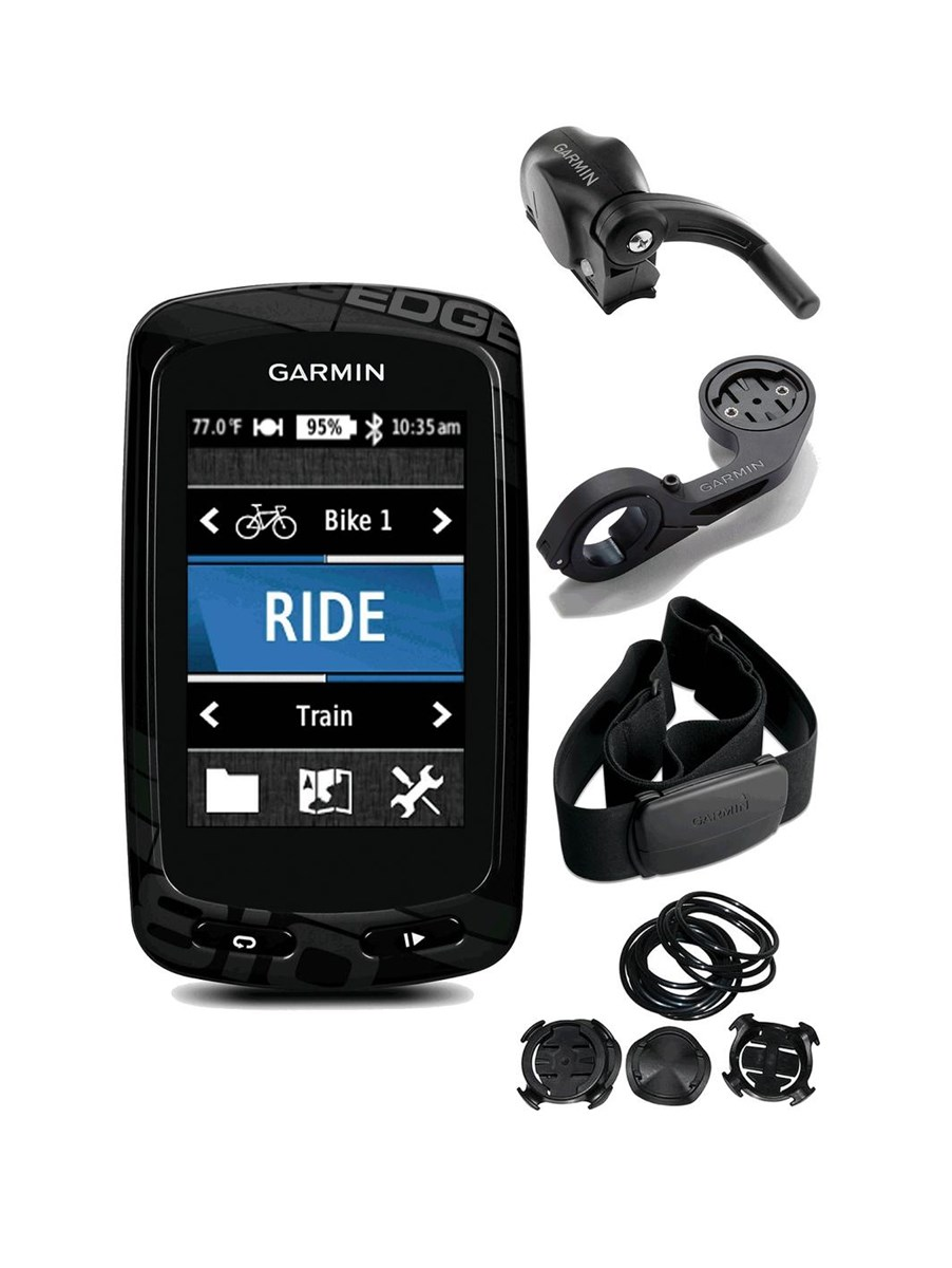 Велокомпьютер Garmin Edge 810 HRM-3+CAD. 010-01063-03 эхолоты garmin эхолот striker 4 worldwide
