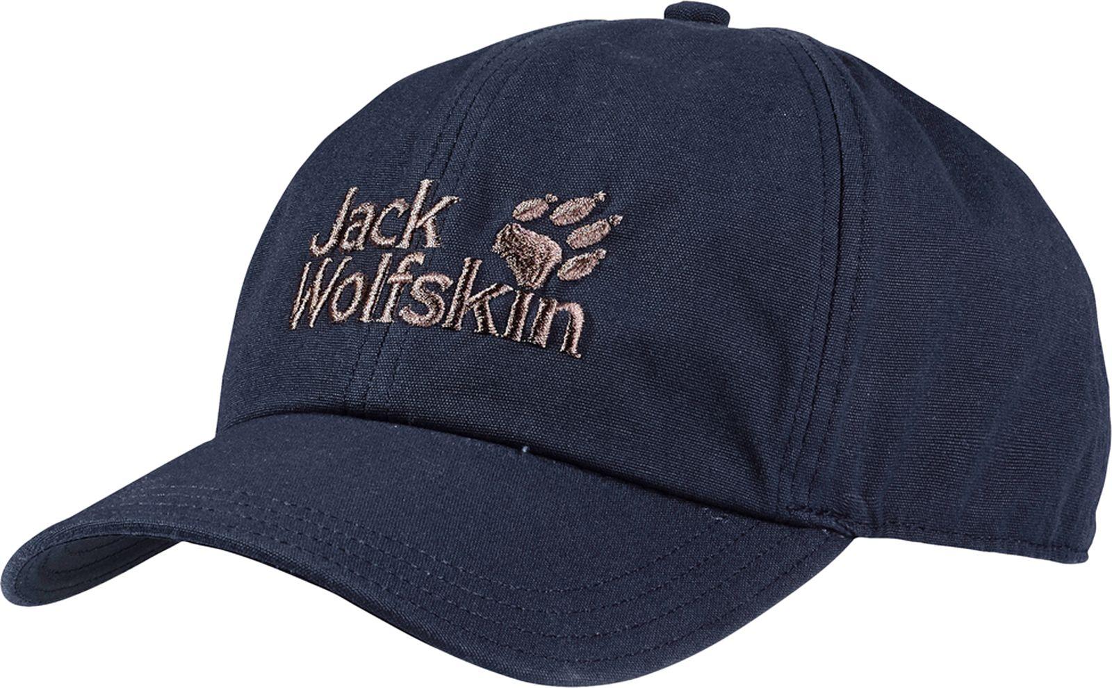 Бейсболка Jack Wolfskin Baseball Cap, цвет: темно-синий. 1900671_1010. Размер универсальный снуд jack wolfskin jack wolfskin ja021guwha98