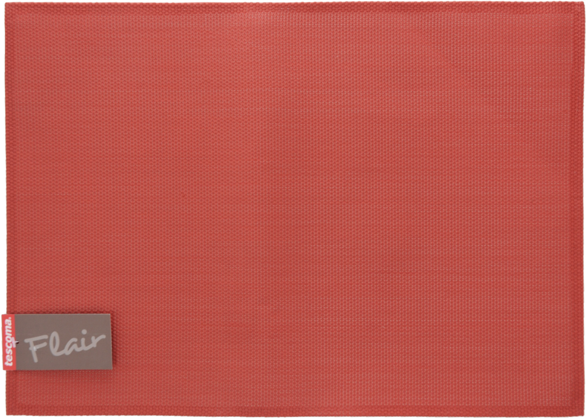 Салфетка сервировочная Tescoma Flair, цвет: гранатовый, 45 х 32 см662014Сервировочная салфетка Tescoma Flair изготовлена из прочной синтетическойткани. Идеально подходит для сервировки стола, также может использоватьсякак подставка под горячее. Выдерживает максимальную температуру до 80°С.Элегантная сервировочная салфетка изысканно украсит вашу кухню.После использования ее достаточно протереть чистой влажной тканью илипромыть под струей воды и высушить. Не мыть в посудомоечной машине.