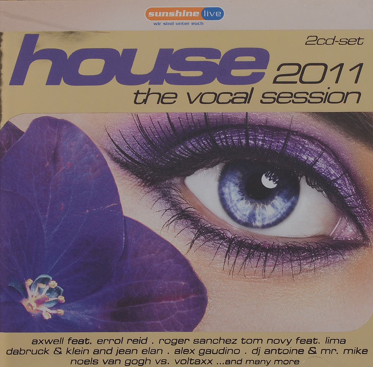 House. The Vocal Session 2011 (2 CD) house vocal session hottest club hits vol 1 2cd