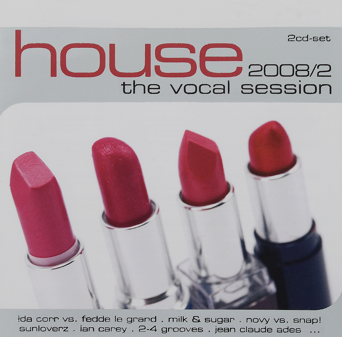 House. The Vocal Session 2008/2 (2 CD)
