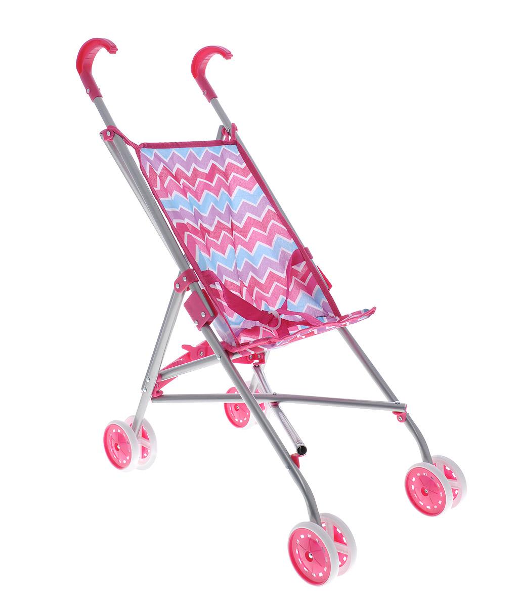 Melobo Прогулочная коляска для кукол цвет розовый сиреневый голубой
