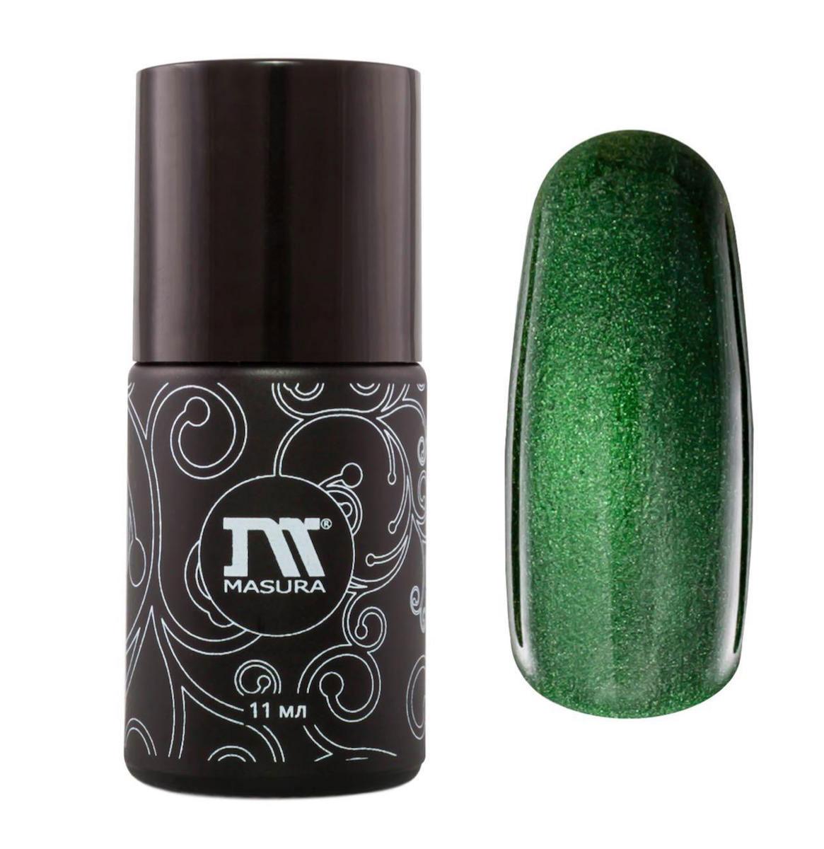 Masura Гель-лак трехфазный Фаберже, тон №295-03, 11 мл295-03SФаберже из коллекции гель-лаков Masura Драгоценные камни - это превосходный теплый изумрудно-зеленый оттенок, с зеркальным переливом, плотный.Маникюр с данным гель-лаком подойдет не только для особого случая, но и на каждый день, не надоест и сможет выгодно подчеркнуть любой образ. Этот насыщенный оттенок отлично сочетается с любыми цветами в одежде, а невероятный эффект, созданный при помощи магнита, придаст каждому ноготку уникальный и неповторимый вид. С помощью магнита вы можете вывести на первый план серебро лака либо сам оттенок; один лак сочетает в себе множество возможностей для дизайна и нэйл-арта. Ко всему вышеперечисленному, вы можете использовать слайдер-дизайн или стемпинг. Тогда маникюр начнет играть новыми, удивительными красками, создавая образ неповторимой, творческой личности. Используя данный гель-лак Masura, вы станете обладательницей исключительного рисунка на ваших ноготках и привлечете к себе внимание окружающих. Товар сертифицирован.